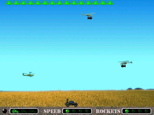Screenshot of Battlejeep