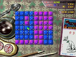 Click to enlarge Domino Dilemma Game Screen