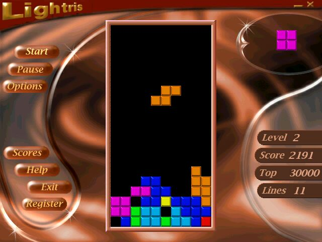 Screenshot of Lightris